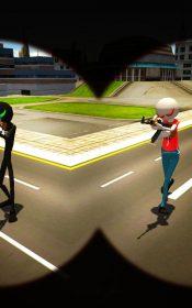 American Monster vs Stickman Sniper Modern Combat