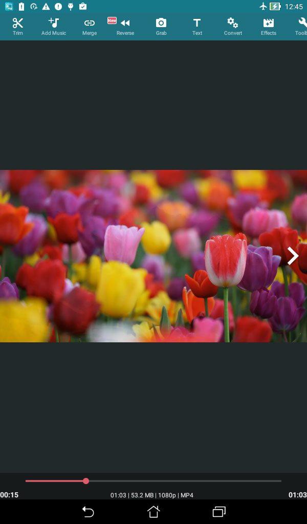دانلود AndroVid Pro Video Editor 3.2.4.2 - برنامه قدرتمند ویرایش فیلم مخصوص اندروید + مود + لایت