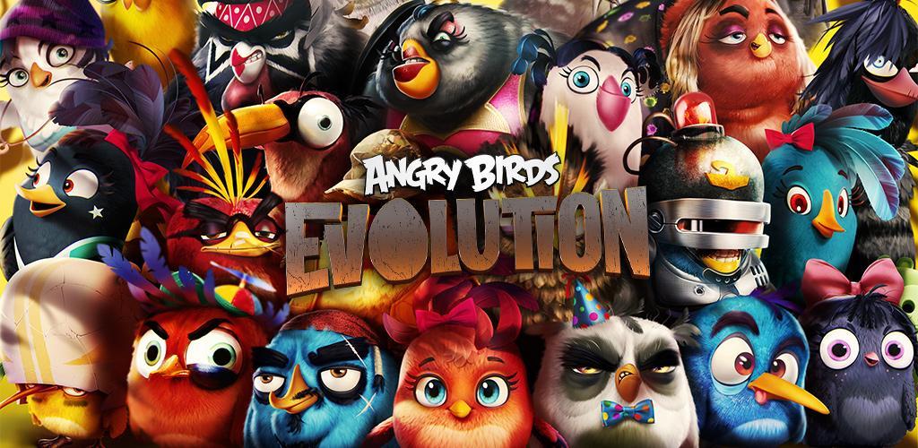 دانلود Angry Birds Evolution 1.8.0 – بازی خارق العاده تکامل پرندگان خشمگین اندروید + دیتا