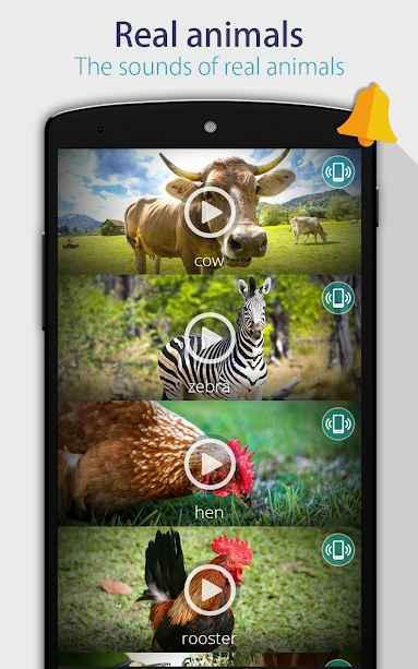 دانلود Animals: Ringtones 6.7 - برنامه صدای زنگ حیوانات مخصوص اندروید + مود