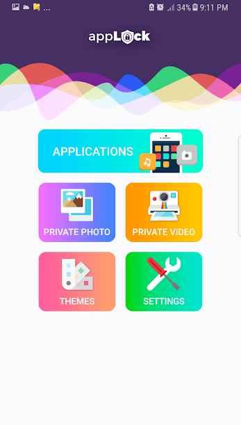 دانلود App lock & gallery vault 1.19 - برنامه امنیتی و حفظ حریم شخصی اندروید