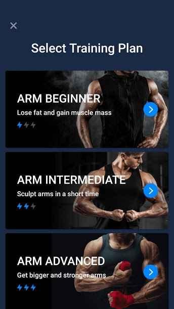 دانلود Arm Workout Biceps Exercise 1.0.2 - برنامه مجموعه تمرینات ورزشی بازو اندروید !