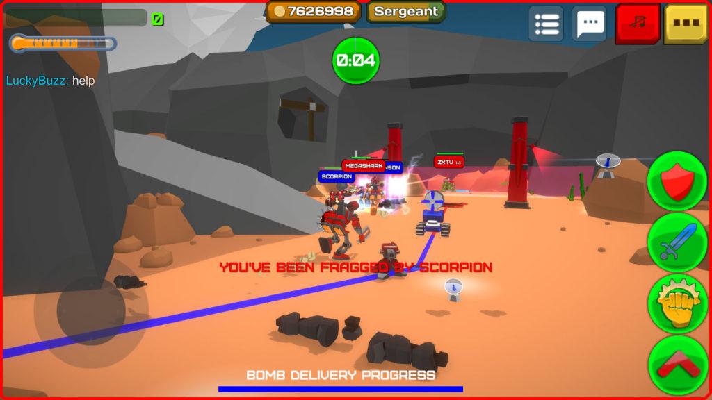 دانلود Armored Squad: Mechs vs Robots 1.6.6 - بازی اکشن نبرد روبات های زره پوش اندروید + مود