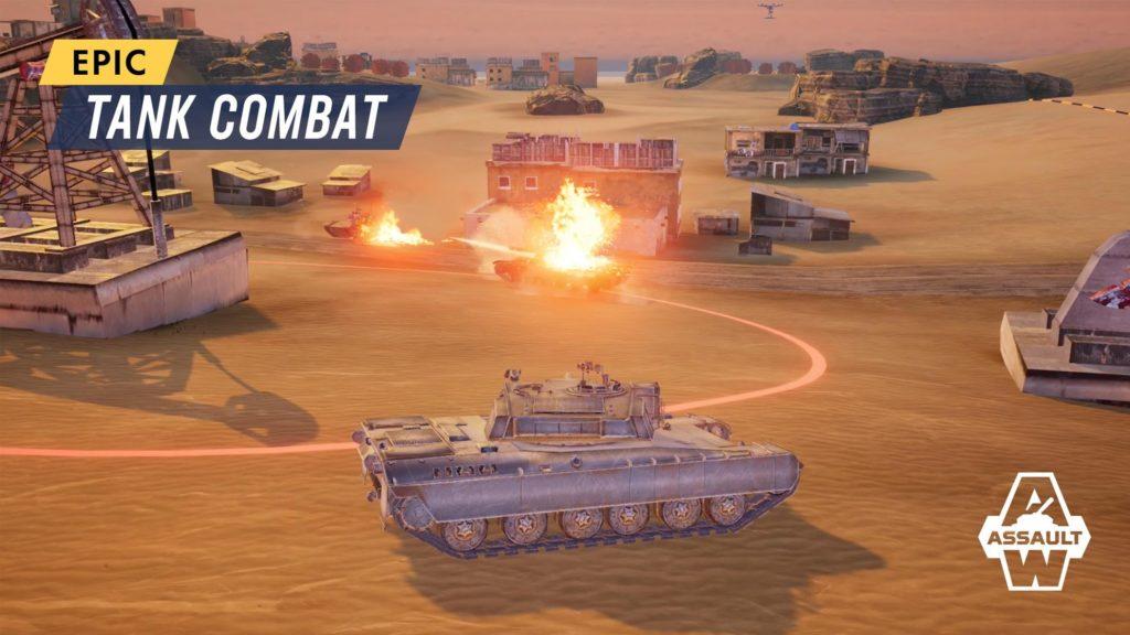 دانلود Armored Warfare: Assault 1.7.11 - بازی نبرد آنلاین تانک های زره پوش اندروید + دیتا