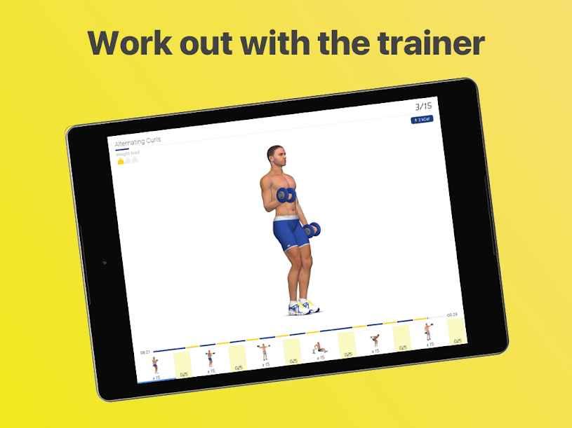 دانلود Arms Workout – 4 Week Program Full 4.5.0 - برنامه مجموعه تمرینات ورزشی بازو مخصوص اندروید