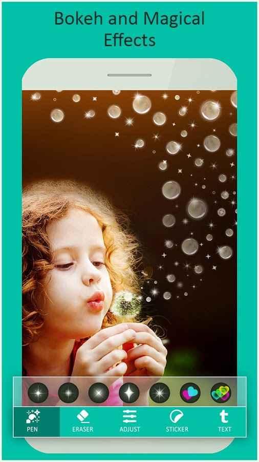 دانلود Artful - Photo Glitter Effects Premium 1.2 - برنامه افکت های درخشان تصاویر اندروید