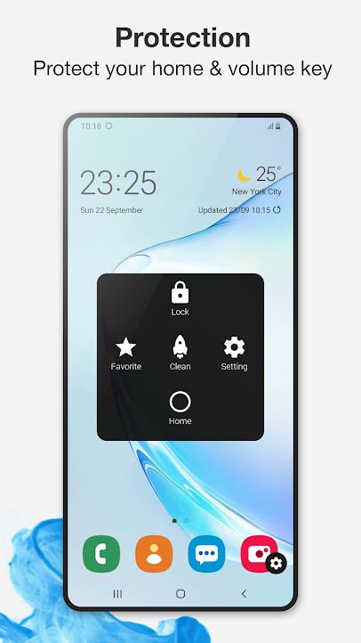 دانلود Assistive Touch for Android VIP 2.7.10 - میانبر آیفون برای اندروید !