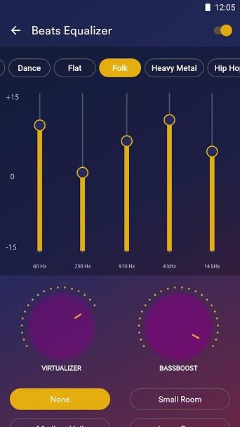 دانلود Audio Beats - Music Player Full 4.8.0 B-4803 - پلیر صوتی گرافیکی و قدرتمند اندروید