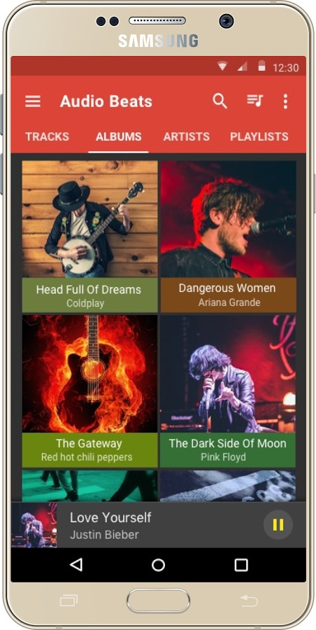 دانلود Audio Beats - Music Player Full 3.5 b328 - پلیر صوتی گرافیکی و قدرتمند اندروید