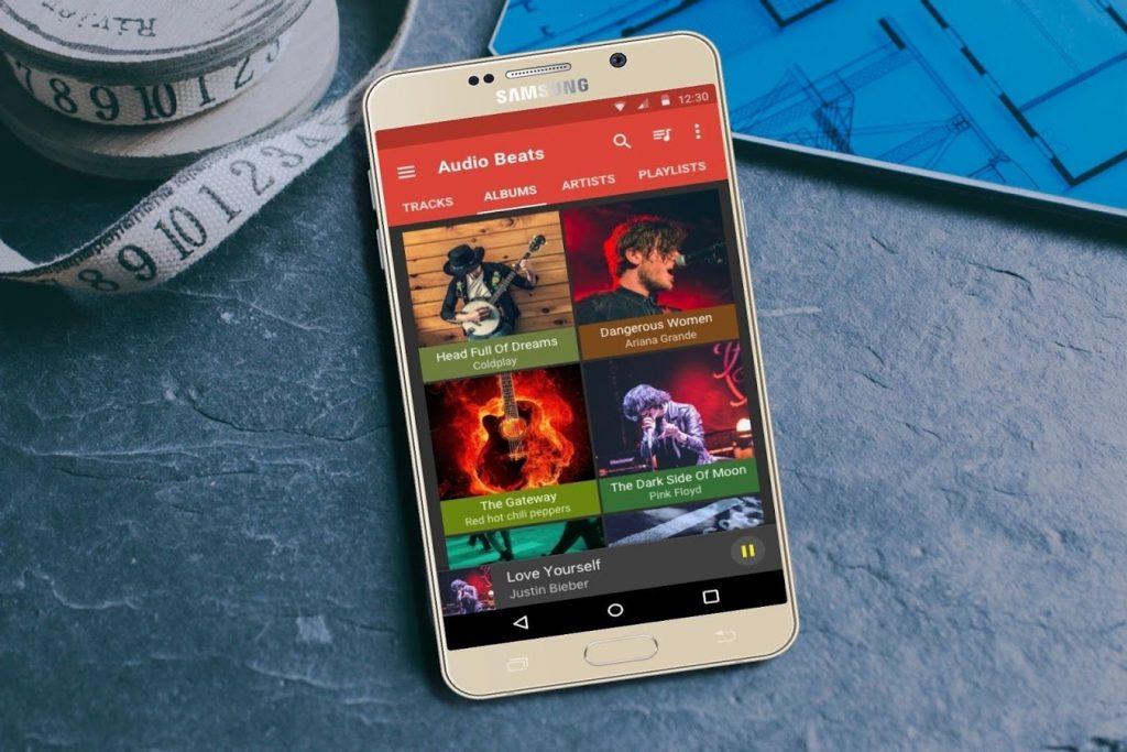 دانلود Audio Beats - Music Player Full 3.0 - پلیر صوتی گرافیکی و قدرتمند اندروید
