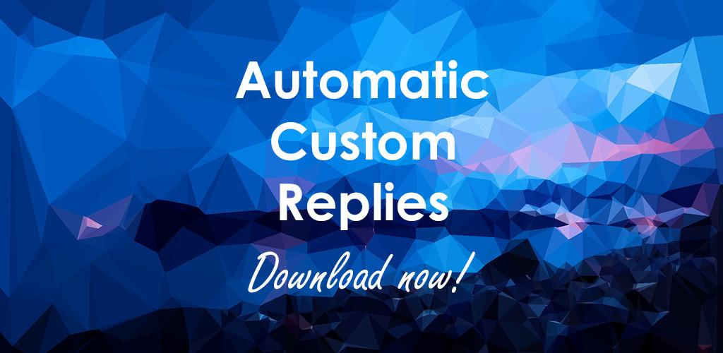 AutoResponder for FB Messenger - Auto Reply Bot Full