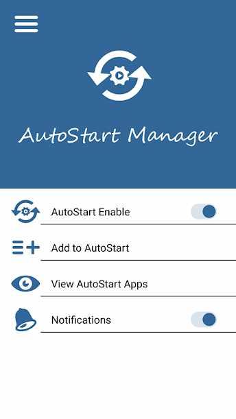 دانلود AutoStart App Manager PRO 1.0.9 - ابزار مدیریت برنامه های اتوران اندروید!