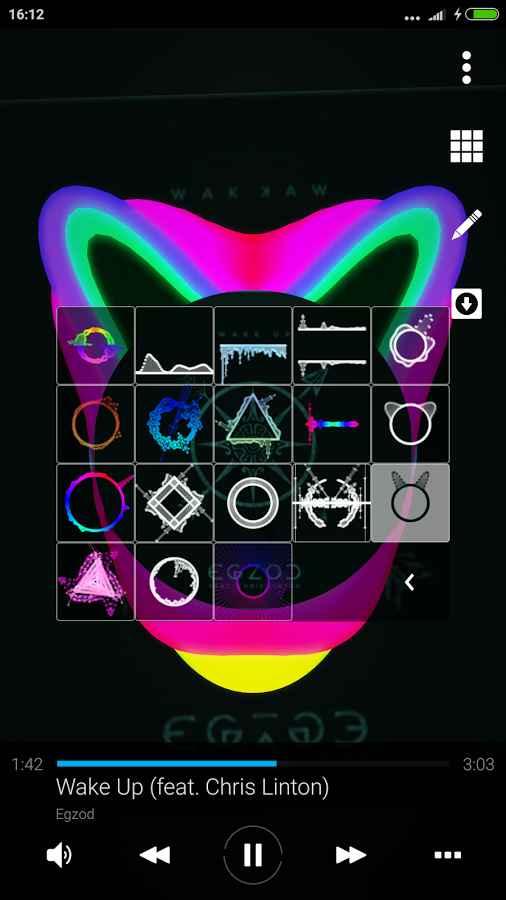 دانلود Avee Music Player (Pro) Full 1.2.75 - موزیک پلیر کم حجم و پر امکانات اندروید !