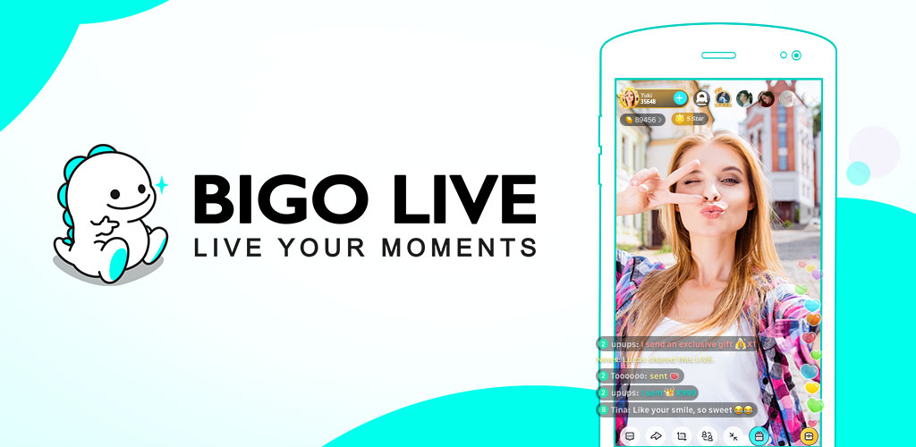 BIGO LIVE–Live Stream, Video Chat, Make Friends
