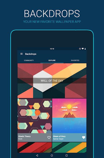 دانلود Backdrops - Wallpapers Pro 4.21 - مجموعه تصاویر زمینه باکیفیت اندروید + بتا