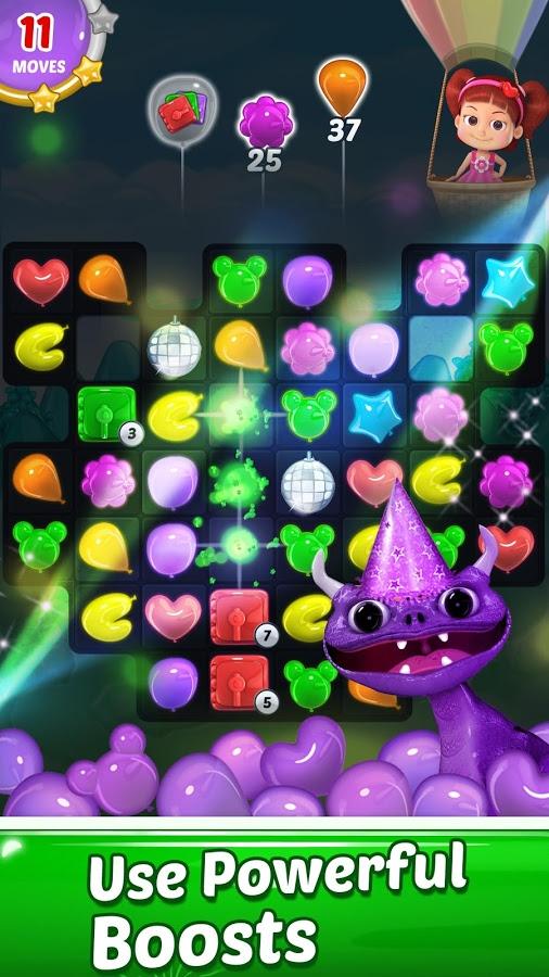 دانلود Balloon Paradise - Free Match 3 Puzzle Game 3.8.6 - بازی پازل