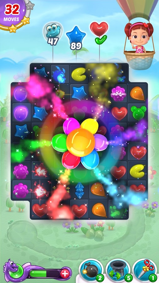 دانلود Balloon Paradise - Free Match 3 Puzzle Game 3.9.2 - بازی پازل