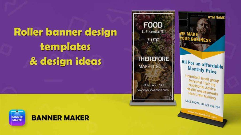 دانلود Banner Maker,Web Banner Ads, Roll Up Banners PRO 8.0 - برنامه ساخت بنر تبلیغاتی وب مخصوص اندروید !