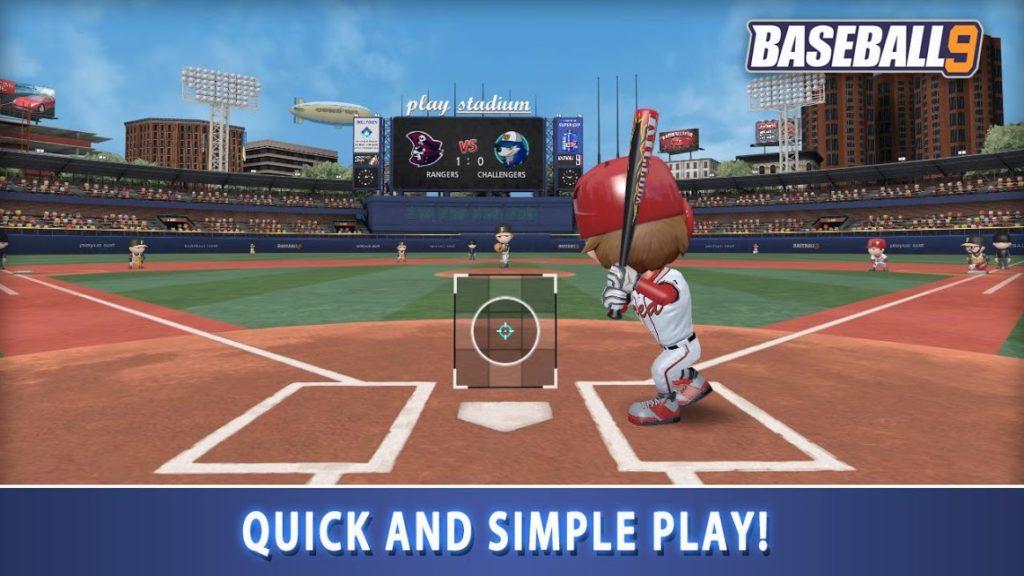دانلود Baseball 9 1.4.1 - بازی ورزشی محبوب