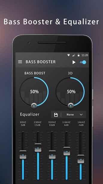 دانلود Bass Booster & Equalizer 1.4.0 - اکولایزر و تقویت باس اندروید!