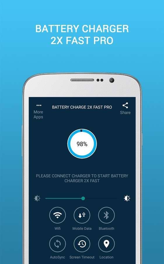 دانلود Battery Charge 2X Fast Pro 1.0.3 - ذخیره ساز و افزایش سرعت شارژ اندروید