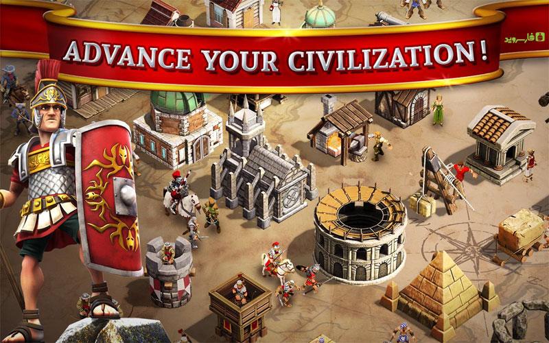دانلود Battle Ages 3.1.2 - بازی استراتژیک آنلاین