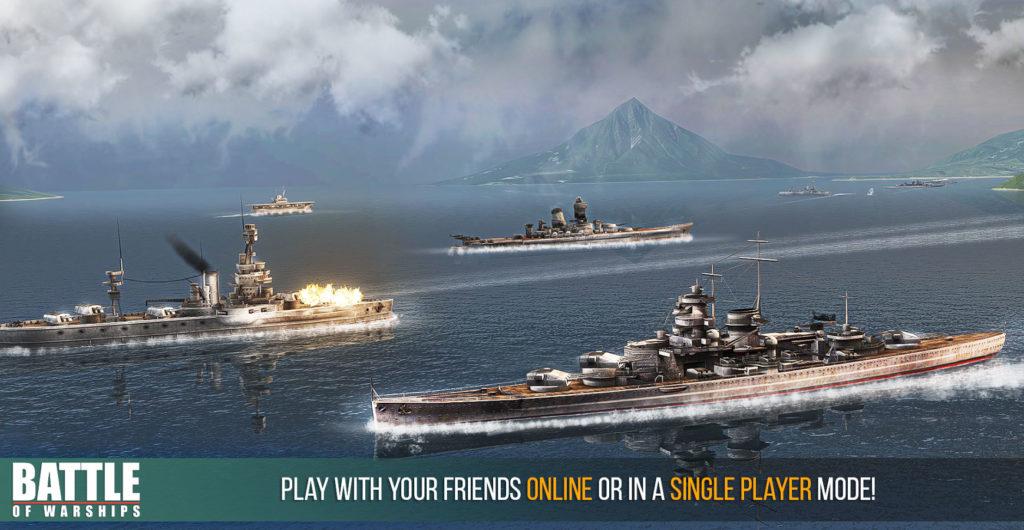 دانلود Battle of Warships 1.66.11 - بازی اکشن