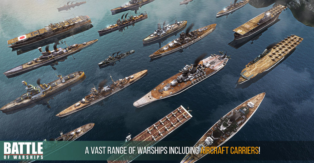 دانلود Battle of Warships 1.67.9 - بازی اکشن