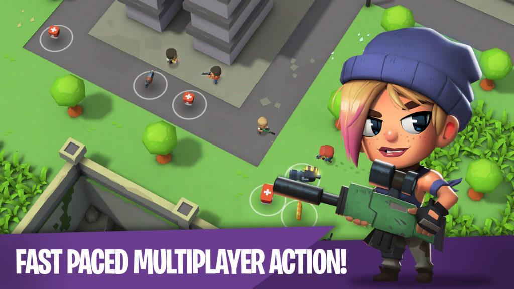 دانلود Battlelands Royale 2.4.4 - بازی اکشن بتل لند رویال اندروید + مود