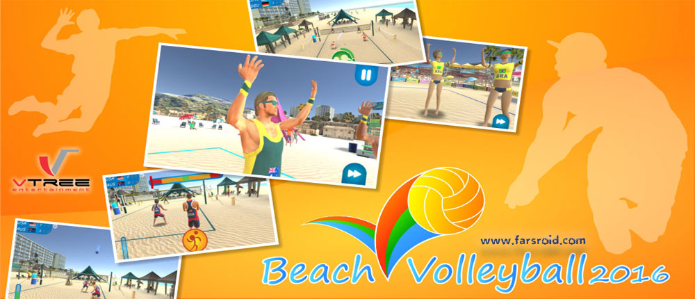 دانلود Beach Volleyball 2016 - بازی والیبال ساحلی اندروید !
