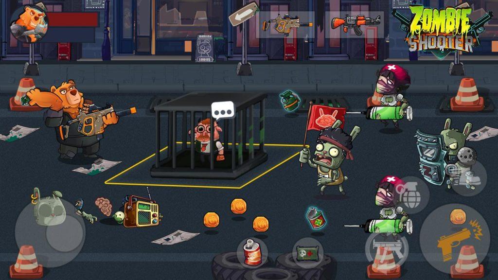 دانلود Bear Gunner : Zombie Shooter 2.1 - بازی اکشن