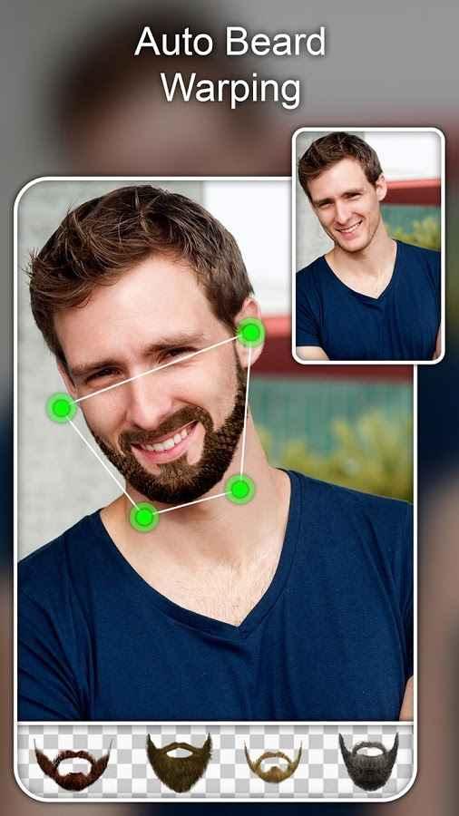 دانلود Beard Photo Editor Premium 1.5 - برنامه افکت ها زنده ریش اندروید !