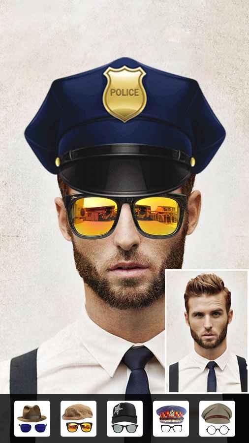 دانلود Beard Photo Editor - Hairstyle 2.4 - برنامه افزودن ریش و مدل مو به تصاویر اندروید !