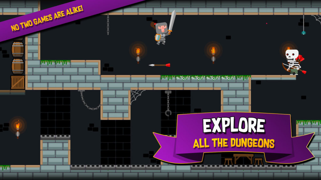 دانلود Become a Legend: Dungeon Quest 1.3.0 - بازی اکشن