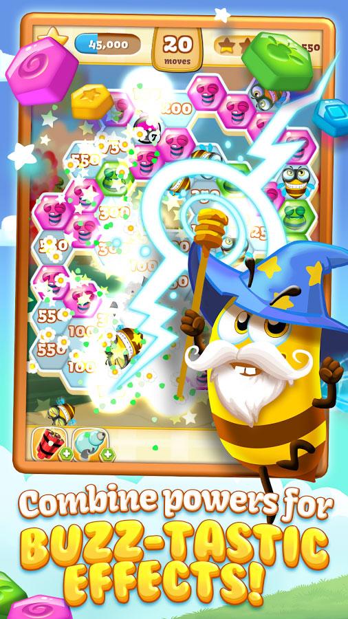 دانلود Bee Brilliant Blast 1.25.0 - بازی پازل انفجار زنبور عسل اندروید + مود