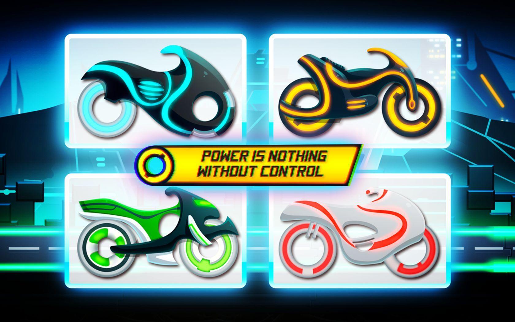 Bike Race Game: Traffic Rider Of Neon City