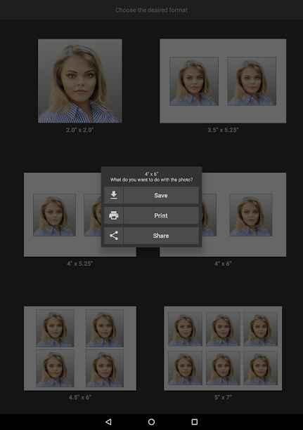 دانلود Biometric Passport Photo PRO 4.6 - برنامه تهیه و تنظیم عکس پاسپورت مخصوص اندروید!