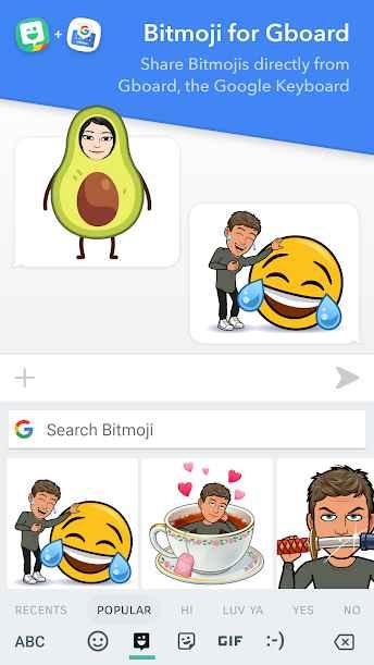 دانلود Bitmoji – Your Personal Emoji 10.34.193 - برنامه ساخت ایموجی و استیکر شخصی مخصوص اندروید !