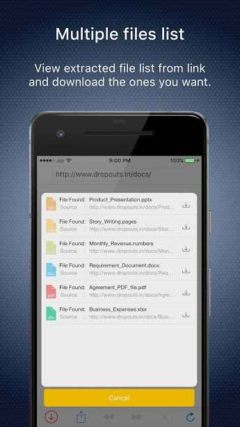 دانلود Blaze : Extract Files From Links To Download 1.1 - برنامه استخراج فایل از لینک مخصوص اندروید !