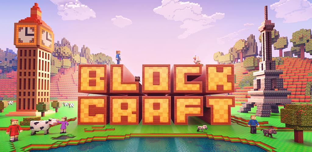 """Block Craft 3D Building Simulator Games For Free Cover دانلود Block Craft 3D: Building Simulator Games For Free 2.6.0 – بازی شبیه ساز """"بلاک کرفت"""" آندروید + مود"""