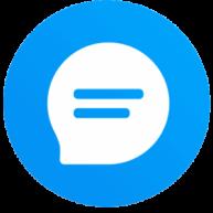 Block Text, SMS, Spam Blocker - Key Messages-Logo