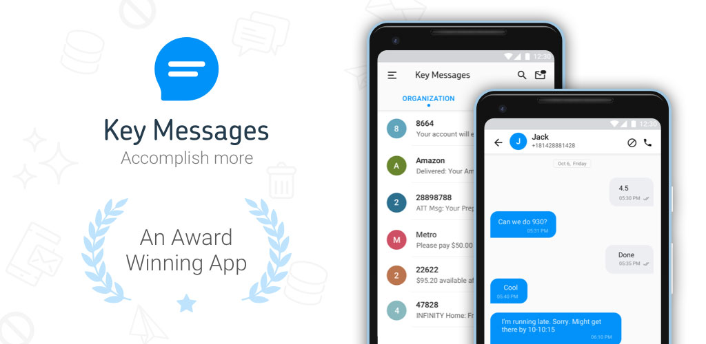 Block Text, SMS, Spam Blocker - Key Messages Premium