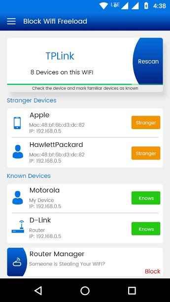 دانلود Block WiFi – Router Admin Setup 1.9 - برنامه مسدود سازی دسترسی غیر مجاز روتر اندروید