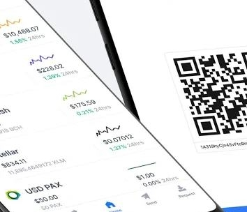 Blockchain Wallet. Bitcoin, Bitcoin Cash, Ethereum-2