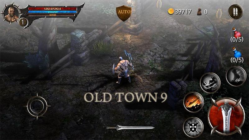 دانلود BloodWarrior 1.5.4 - بازی شمشیری جنگجوی خونین اندروید + مود + دیتا