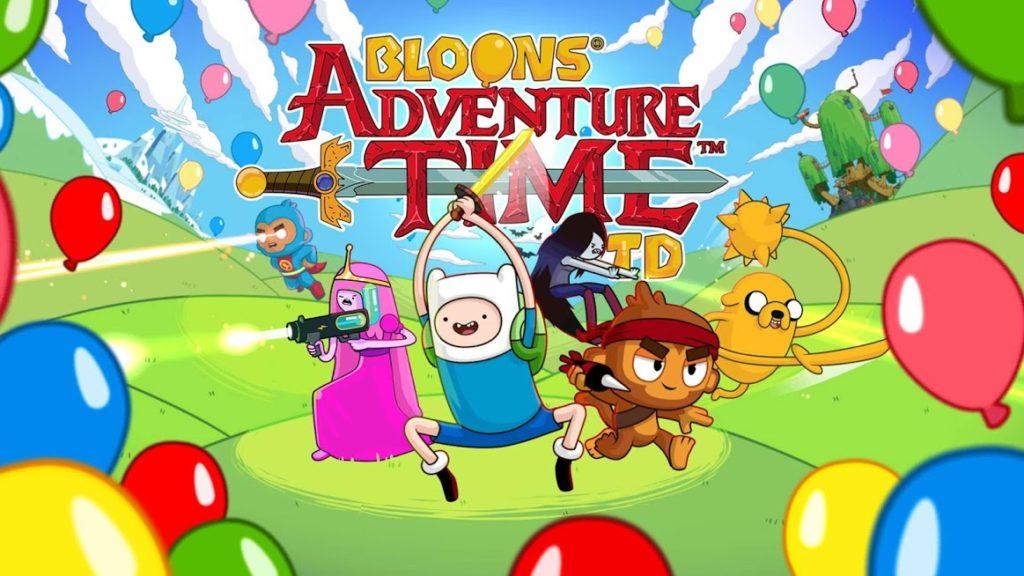 دانلود Bloons Adventure Time TD 1.4.1 - بازی دفاع از قلعه