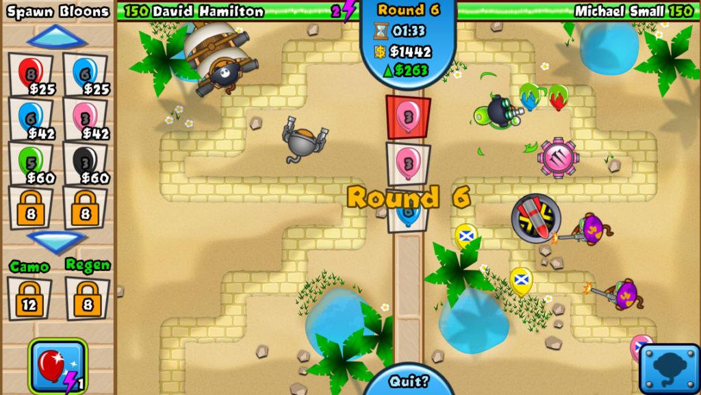 دانلود Bloons TD Battles 6.2.4 - بازی آنلاین جنگ میمون ها اندروید + مود