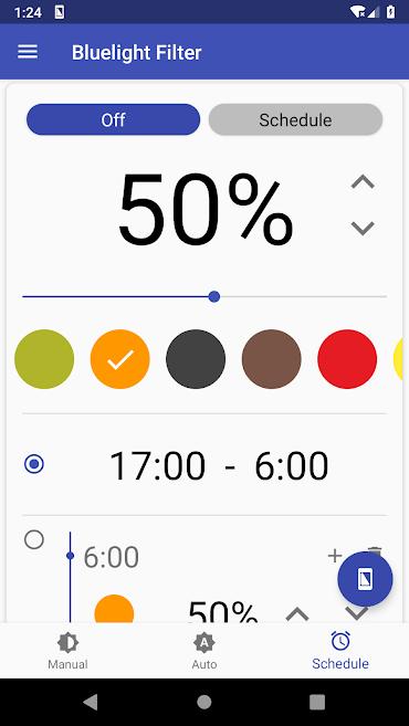 دانلود Bluelight Filter for Eye Care 3.2.3 - برنامه کاهش خستگی چشم اندروید + مود + لایت