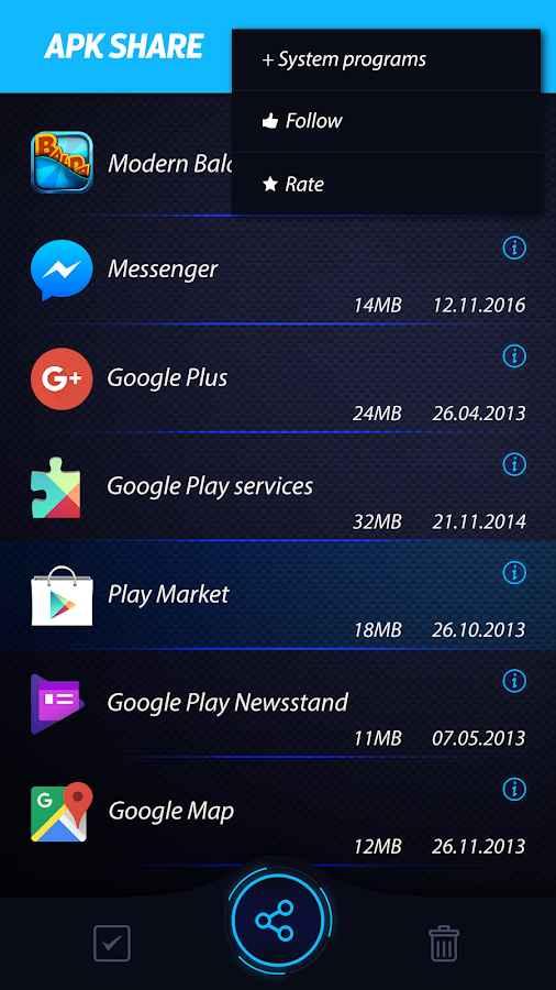 دانلود Bluetooth App Sender 2.5.5 - بهترین ابزار اشتراک گذاری برنامه ها اندروید !