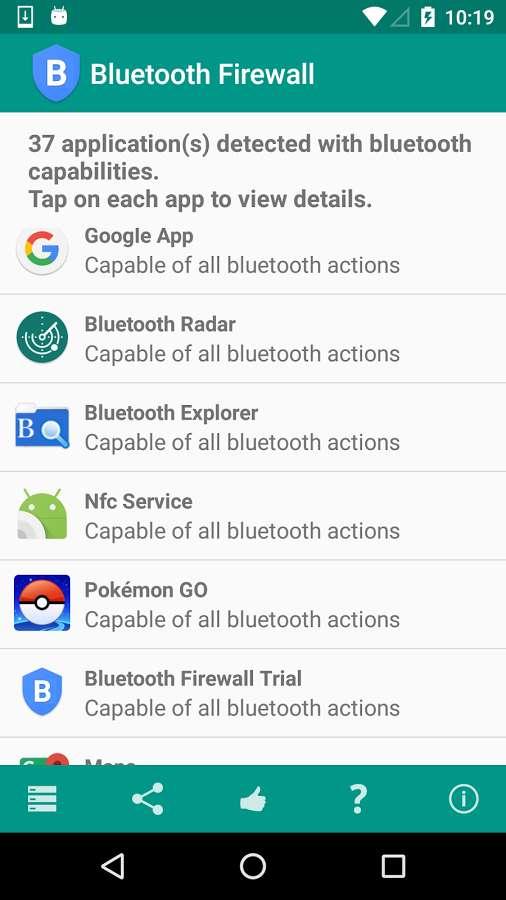 دانلود Bluetooth Firewall 4.3 - برنامه امنیتی فایروال بلوتوث اندروید !